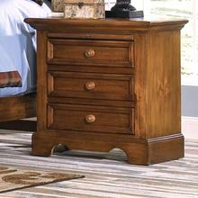 Large Three Drawer Night Stand