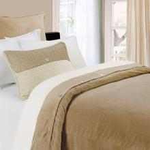 Sand Velvet Duvet Cover (super King/queen) - King