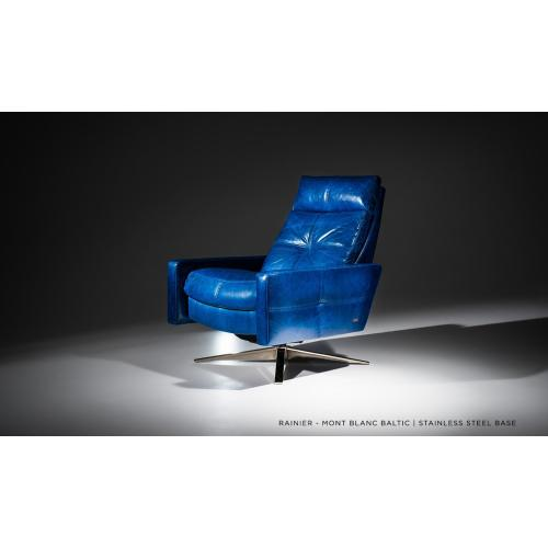 Rainier - Reclining Lounge Chair - American Leather