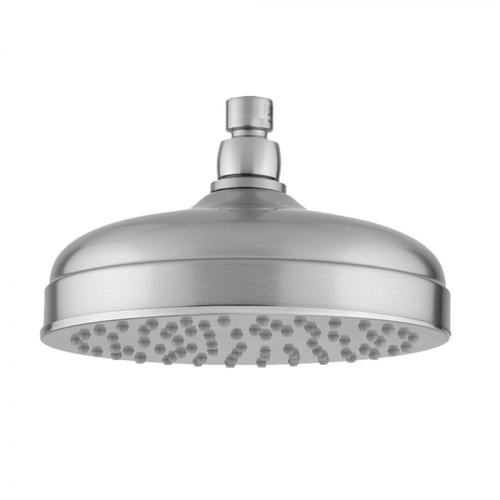 "Satin Nickel - 8"" Extra Velocity Traditional Rain Machine®-2.0 GPM"
