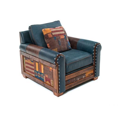 Green Gables Furniture - Remington Open Chair- Desert Clay - Desert Clay