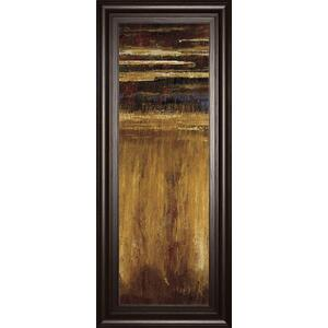 """Eruption Pompe II"" By Jardine Framed Print Wall Art"