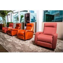 See Details - Demi Sleek Recliner Chair - American Leather