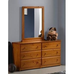 Tucson Double Dresser With Mirror