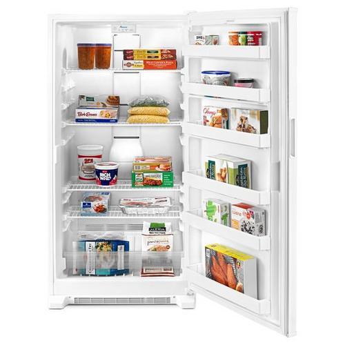20 cu. ft. Amana® Upright Freezer with Revolutionary Insulation - white