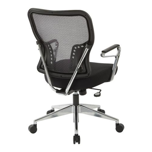 Air Grid® Back and Padded Mesh Seat Chair