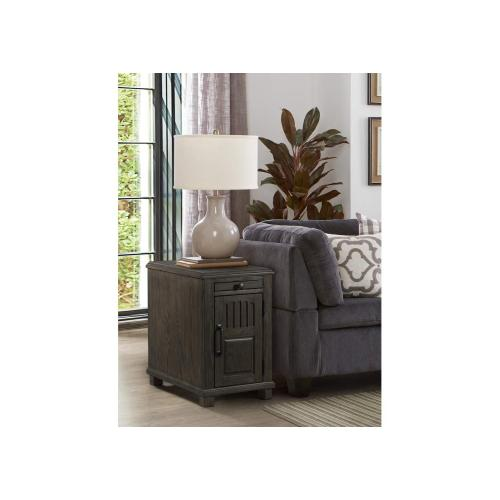 Gallery - 7647 Power Chairside Table