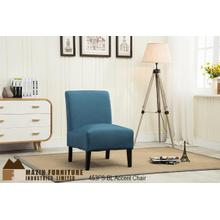Accent Slipper Chair Blue