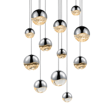 Grapes® 12-Light Round Assorted LED Pendant