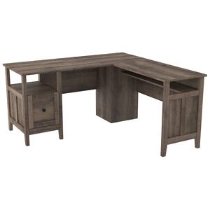 "Ashley FurnitureSIGNATURE DESIGN BY ASHLEYArlenbry 58"" Home Office Desk"