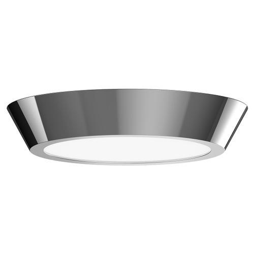 "Sonneman - A Way of Light - Oculus LED Surface Mount [Size=16"", Color/Finish=Polished Nickel]"