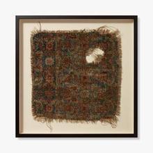 See Details - 0351760007 Vintage Rug Fragment Wall Art