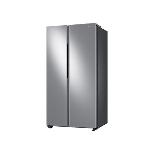 23 cu. ft. Smart Counter Depth Side-by-Side Refrigerator in Stainless Steel