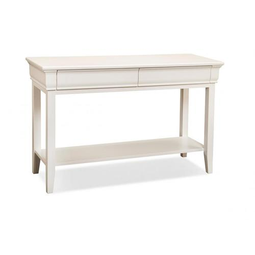 - Monticello Sofa Table with Shelf and 2 Drawers