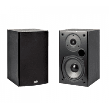 Home Theater and Music Bookshelf Speaker in Black
