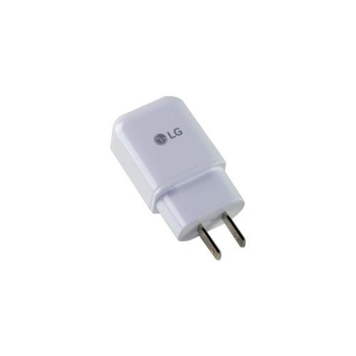 LG - LG Travel Power Adapter