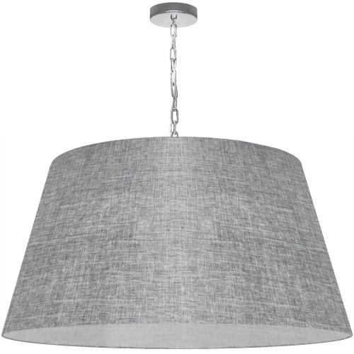 1lt Brynn X-large Pendant, Grey/clear Shade, PC