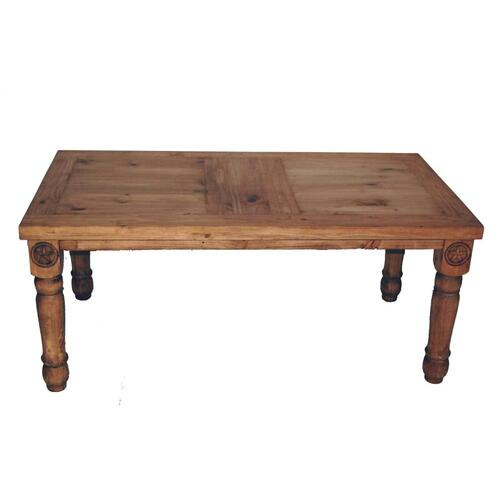 7' Table W/star On Legs