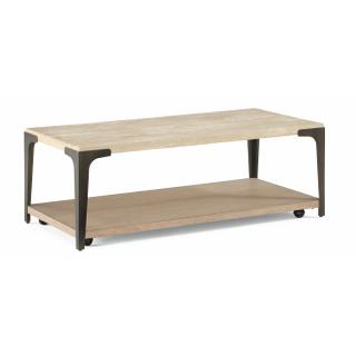 See Details - Omni Rectangular Coffee Table with Casters