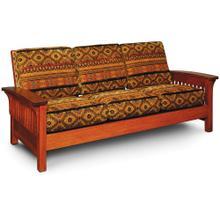 See Details - Grand Rapids Sofa, Recliner / Fabric Cushions