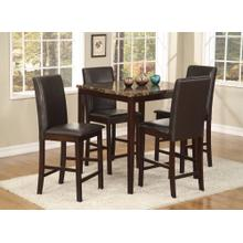 Palms 5 Pc. Pub Set Brown