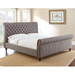 Swanson King Bed, Gray