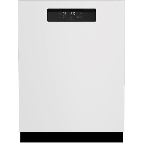 White Front Control, Pocket Handle Dishwasher, 6 Programs, 45 dBA