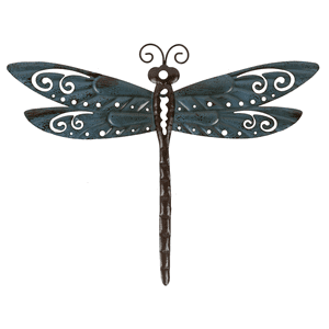 Dragonfly Wall Decor - Sm. (12 pc. ppk.)
