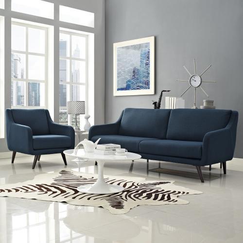 Modway - Verve Living Room Set Set of 2 in Azure