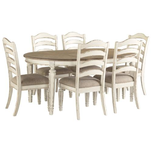 Ashley - Dining Table and 6 Chairs