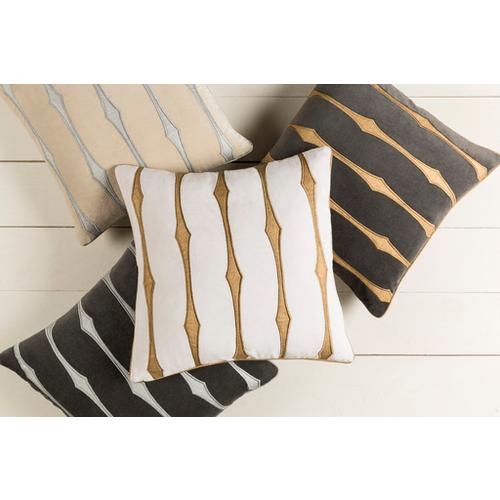 "Graphic Stripe GS-002 20"" x 20"""
