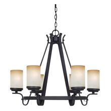 60WX6 OELWEIN 6 LIGHT CHANDELIER
