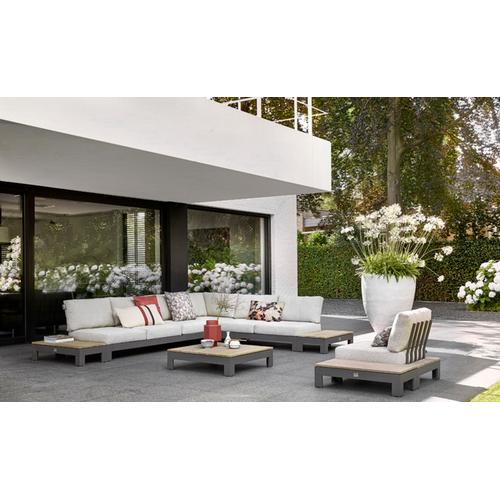 """STICKS AND MORE Sectional 57"""" Love Seat w/ cushions"""