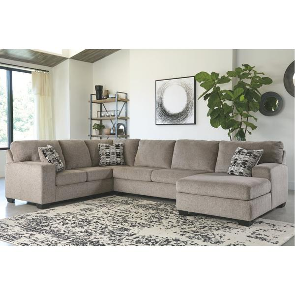 Ballinasloe 3-piece Sectional With Chaise