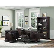 Clinton Hill - Open Bookcase - Kohl Black Finish Product Image