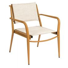 See Details - Daytona Padded Sling Dining Armchair - Stackable