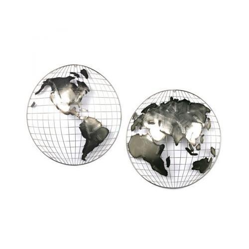 Artisan House - Hemispheres - Steel (S/2)