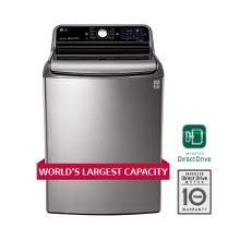World's Largest 6.6 CU.FT. Capacity High Efficiency Top Load Washer