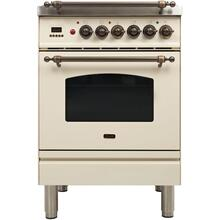 "24"" Inch Antique White Natural Gas Freestanding Range"