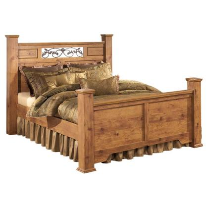 See Details - Bittersweet Queen Poster Bed With 2 Storage Drawers