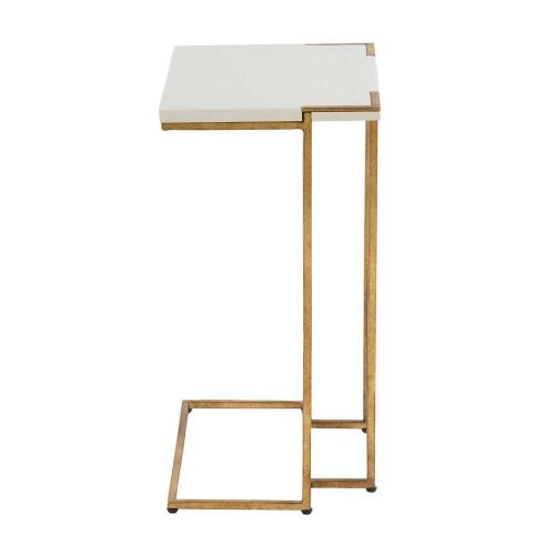 Amber C Table - Gold