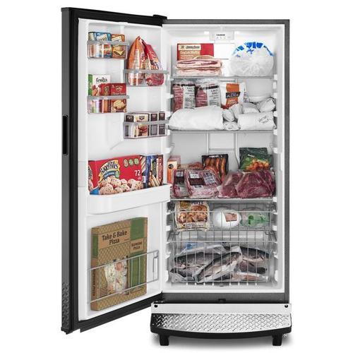 Gladiator - 17.8 Cu. Ft. Upright Freezer