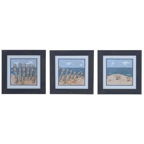 BEACH SCENE 1,2, & 3 (SET OF 3)