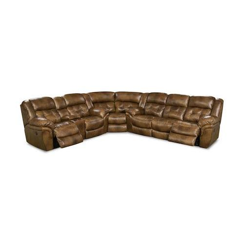 155-15  Super-Wedge Sectional, Chaps Saddle - TOP GRAIN LEATHER