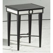 See Details - Black / Mirror Accent Table