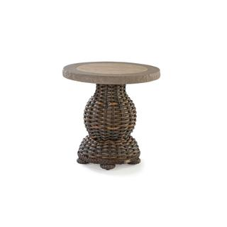 South Hampton Round End Table with Composite Top
