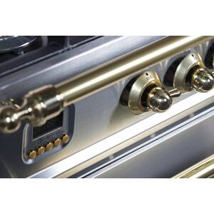 30 Inch Stainless Steel Dual Fuel Liquid Propane Freestanding Range
