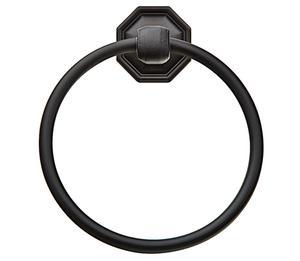 Tuscany Bronze Towel Ring Product Image