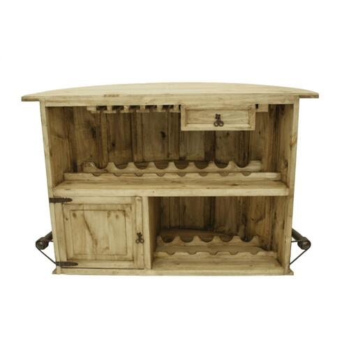 L.M.T. Rustic and Western Imports - Curved Bar