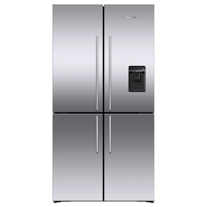 "Freestanding Quad Door Refrigerator Freezer, 36"", 18.9 cu ft, Ice & Water Product Image"